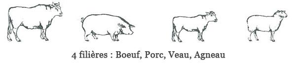Filières Groupe Bigard